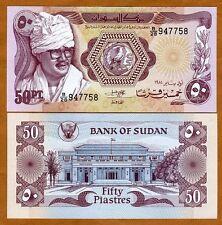 Sudan, 50 Piasters, 1983, P-24, UNC