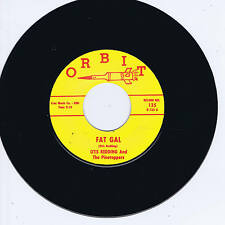 OTIS REDDING - FAT GAL (Killer Black Jiver) b/w SHOUT BAMALAMA (Frantic Rocker)