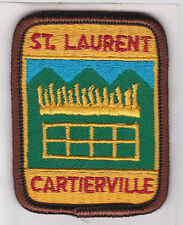 SCOUTS OF CANADA -  CANADIAN SCOUT QUEBEC ST LAURENT CARTIERVILLE DISTRICT Patch