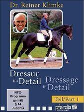 Dressage in Detail Part 1 with Dr. Reiner Klimke DVD BRAND NEW