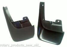 ISUZU DMAX D-MAX 4X2 REAR PLASTIC MUD FLAPS 2003 - 2007 LEFT & RIGHT HAND PAIR