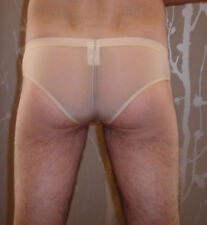 Slip Chair NEOFAN plum taille S  Ref P03 transparent sexy gay inte