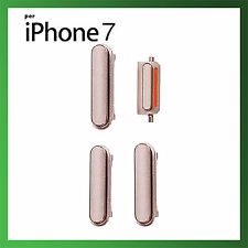 KIT SET TASTI VOLUME POWER ACCENSIONE MUTE PER IPHONE 7 ROSA PINK