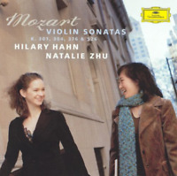 HILARY HAHN-MOZART: VIOLIN SONATAS - K.301. 304. 376 & 526-JAPAN SHM-CD D46