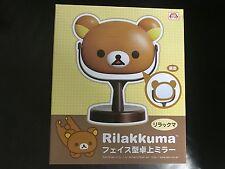 San X Sanrio Rilakkuma Face Handy Table Fac Mirror Foldable Imported Licensed