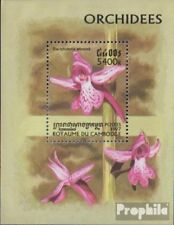 Cambodia block234 (complete issue) unmounted mint / never hinged 1997 Orchids