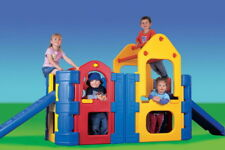 PICK UP ONLY SPECIAL Maxi Climber / Play Gym with 2 Slides, Sprinkler Bar