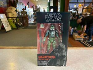 "Star Wars Black Series 6"" Figure NIP - Clone Trooper CLONE COMMANDER GREE"