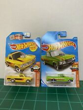 Hot Wheels custom 72 Chevy luv lot of 2