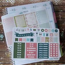 Cottage Garden Weekly Kit Planner Stickers, Full Box, Floral