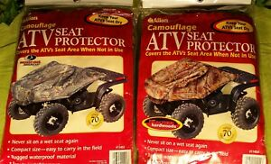 Allen Camouflage ATV Seat Protector - Mossy Oak Break Up and Realtree Hardwood