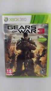 Jeu Xbox 360 Gears of war 3 - genre : jeu de tir
