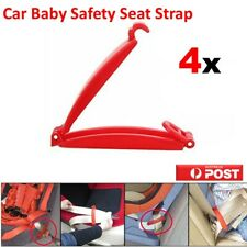 4PCS Car Baby Seat Safety Strap Belt Harness Buckle Chest Clip Child Safe Lock