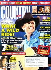 Country Weekly Magazine April 21 2008 George Straight, Sara Evans, Dolly Parton
