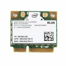 Intel 6230 Wireless N WiFi Bluetooth BT 3.0 Half Size PCI-E Combo Card