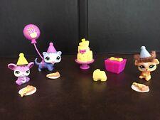 LPS Littlest Pet Shop Goodies & Gifts Party Set # 2488 2489 2490 Ferret Mouse