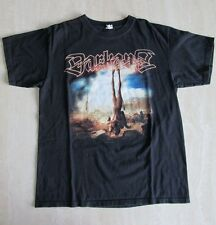 Rare DARKANE DEMONIC ART Promo Music Men's Size L T-Shirt Death Thrash Metal EUC