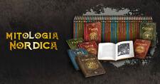 Enciclopedia Libro Mitologia Nordica n 40 Beowulf Contro il Drago RBA