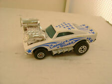 MATCHBOX SUPERFAST MB 26 WHITE COSMIC BLUES HEMI CHARGER
