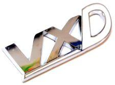 VXD Badge Chrome & White Corsa D Astra H Boot Tailgate Opel Vauxhall Arctic VXR