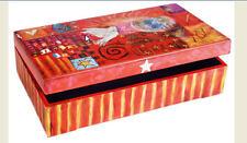 """Rhonda Kullberg Hand Painted Lidded Box """"Peace"""""""