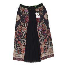 ETRO MILANO Rock Skirt Gr IT 44 100% Seide Silk Paisleymuster Made in Italy Maxi