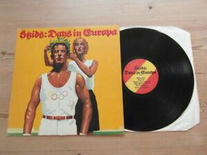 SKIDS-DAYS IN EUROPA-GREAT AUDIO- VIRGIN V 2138- VG+ Nr EX VINYL LP ALBUM 1979
