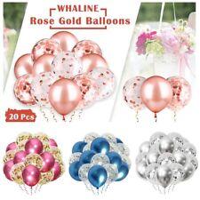 20Pcs Confetti Balloon Metal Sequins Latex Material Birthday Wedding Party Decor