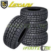 4 Lexani Terrain Beast AT LT235/80R17 117S Tires, All Terrain, 10 Ply LRE, Truck