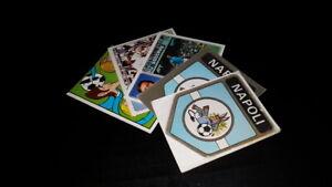 1972-73 NAPOLI Calciatori Panini SCEGLI *** figurina con velina ***