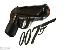 Denix Replica German Walther PPK Pistol WWII Reenactor James Bond 007 Prop Gun