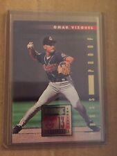 OMAR VIZQUEL 1996 Donruss #251 PRESS PROOF parallel /2000 Cleveland Indians