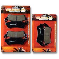 Honda F+R Brake Pads VTX 1800 2002 2003 2004 2005 2006 2007 2008 2009 2010 2011>