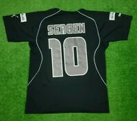 Besiktas Fußball Home Trikot Jersey Clima-Cool Trikot 2004/2005 Gr. L #10 Sergen