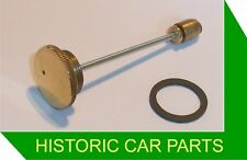 HEX Brass PISTON DAMPER & SEAL for LATER H1 SU Carb on Morris Minor MM 1951-52