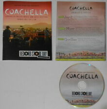Jay-Z, Muse, Gorillaz - Coachella U.S cd w/mag cover, record store day