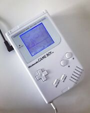 Nintendo Gameboy DMG 01 Backlight Backlit Screen Kit and Bivert Chip White.