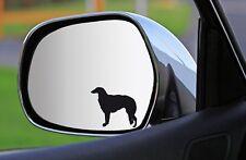 2x, 4x, 6x Silhouetten-AUFKLEBER BARSOI sticker Fensteraufkleber Autoaufkleber