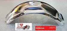 HONDA Z50RD Z50 RD 1986 NEW GENUINE REAR FENDER CHROME GUARD RARE MONKEYBIKE