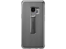 Carcasa para Samsung Galaxy S9 - Samsung Protective Standing Cover, Plata