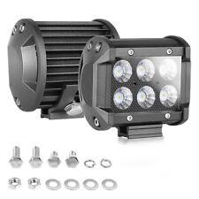 "2x4""Inch 120W Cube LED Work Light Bar Flood Pods Off Road Fog Lights Pickup ATV"