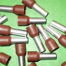 Cord End 10mm Brown Terminal Ferrule Pin  x 100 pcs DICE0010 Davico or Offers