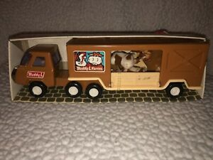 1976 Vintage Buddy L Steel Cow Carrier Toy