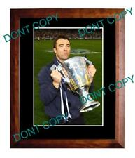 CHRIS SCOTT GEELONG FC 2011 PREMIERS LARGE A3 PHOTO