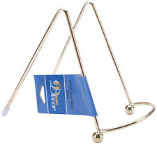 Easel Metal Display Stand Gold 4 Inches