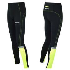 AIRTRACKS Winter Laufhose Lang Neon / Thermo Funktionshose / Running Tight / Neu