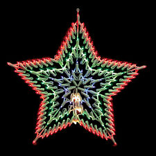 Large 8 Mode Multi-colour LED Star Fairy Light Christmas Window Light Decoration