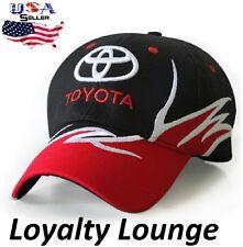 Toyota Logo Cap Truck TRD Prius Tundra Tacoma 4Runner Camry Racing Hat Adjustabl