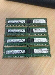 4 Samsung 8GB Ram Cards (4 x 8GB, DDR4-2133) Memory