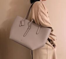NWT Coach Retail Tote Shoulder Bag Leather Bag Gray